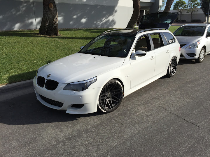 My 535xi Touring is now a 535i Touring: AWD to RWD