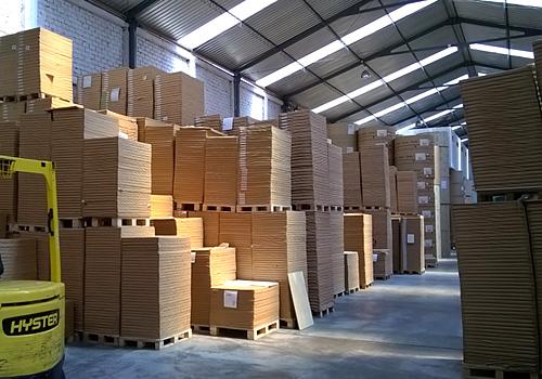 New fully operational warehouse