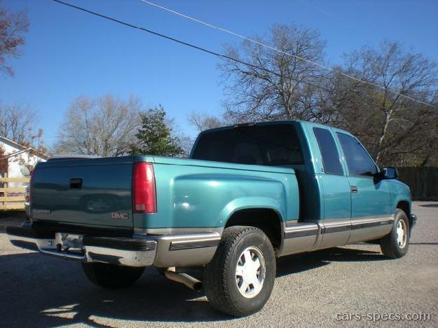 1996 gmc sierra 3500 extended cab specifications pictures. Black Bedroom Furniture Sets. Home Design Ideas