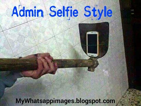 Admin Selfie Style