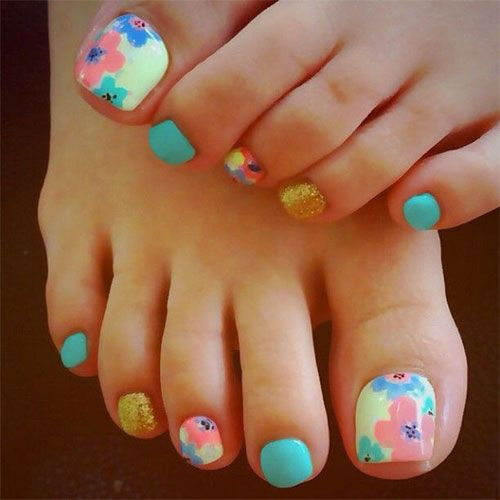 Latest Summer Toe Nail Art Designs