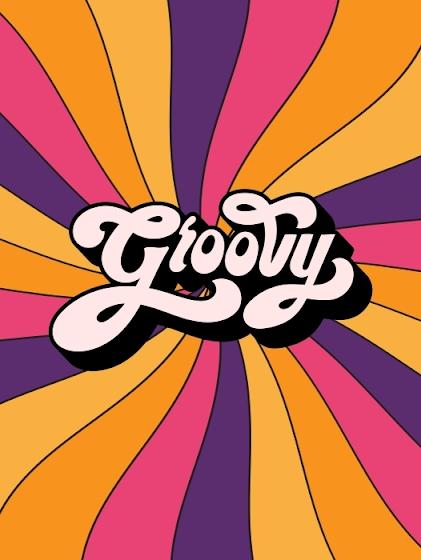 70s color groovy sign-wedding ideas-wedding style-K'Mich Weddings