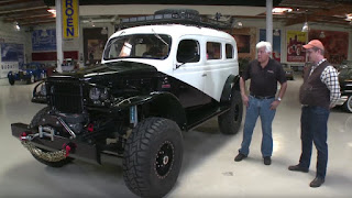 Modified World War II Dodge Carryall from 1942 on Jay Leno's Garage