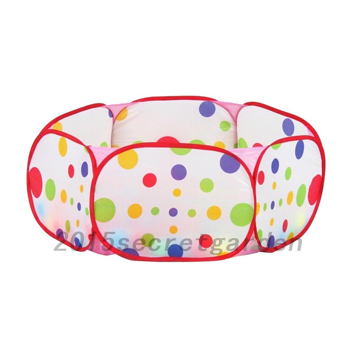 Piscine balles portable pour b b enfant jouet en plein for Piscine a balles bebe