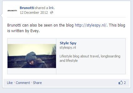 Style Spy gespot door Brunotti