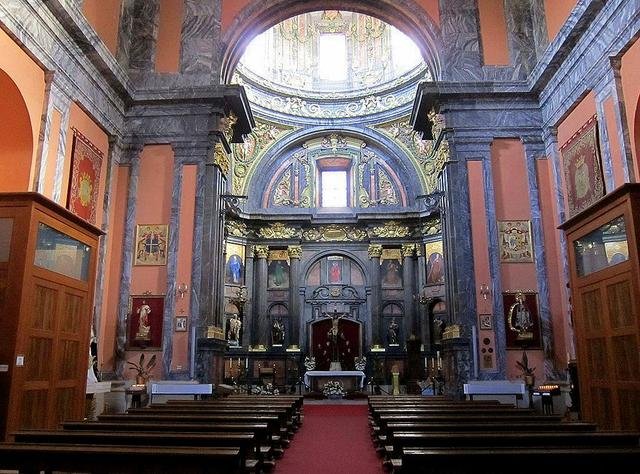 Iglesia de san andr s y capilla de san isidro viendo madrid for Ministerio del interior san isidro