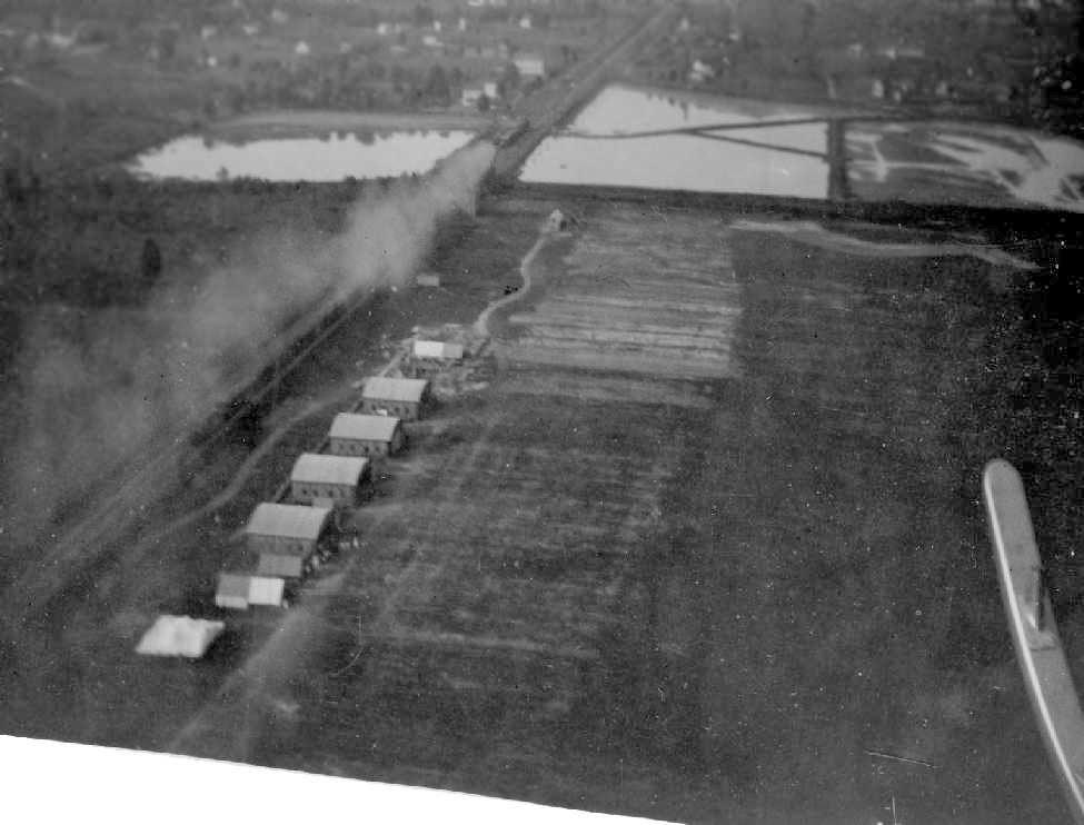 공중에서 바라본 College Park (1911년)