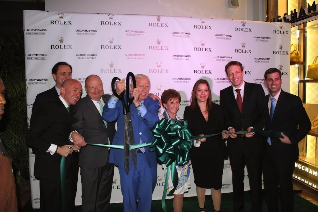 Rolex Miami Boutique Luxury Swiss LLC Ribbon Cutting 4