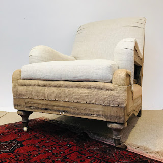 Restoration Hardware Deconstructed English Roll-Arm Chair #2