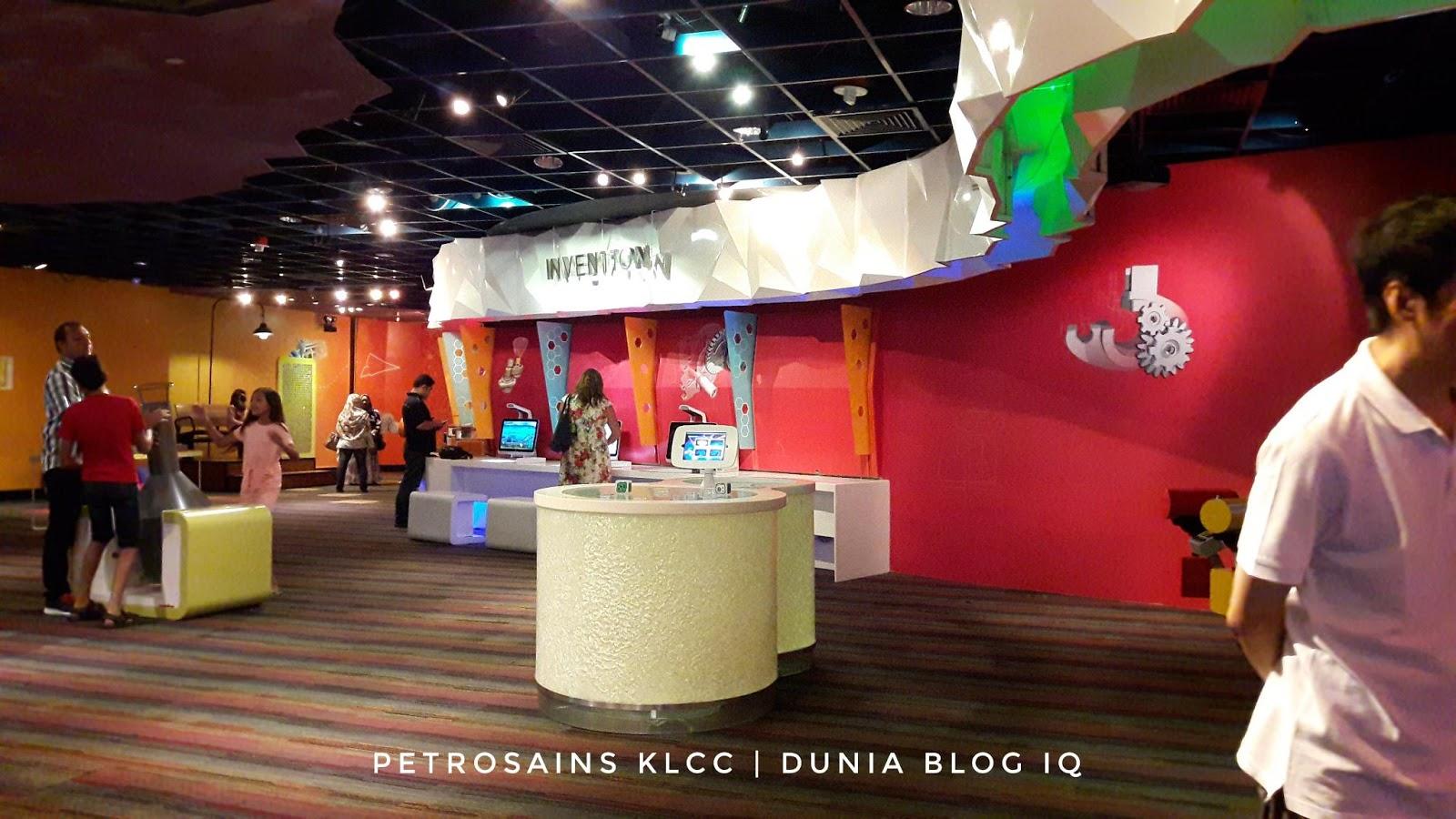 Petrosains KLCC  Penuh Dengan Aktiviti