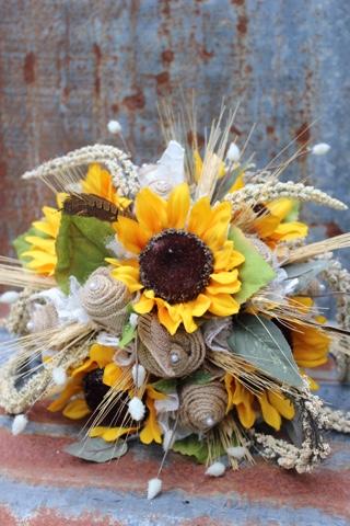 Gypsyfarmgirl Rustic And Vintage Burlap And Lace Wedding