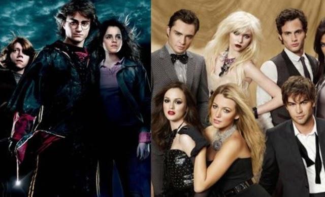 Gossip Girl: os personagens principais e sua contraparte de Harry Potter