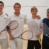 2014 State A Doubles: Champions - John & Dan Roberts; Finalists - Max Montgelas & Doug Lifford
