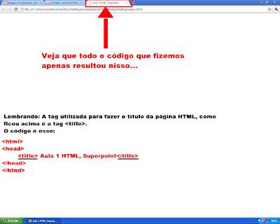 Curso de HTML, Title