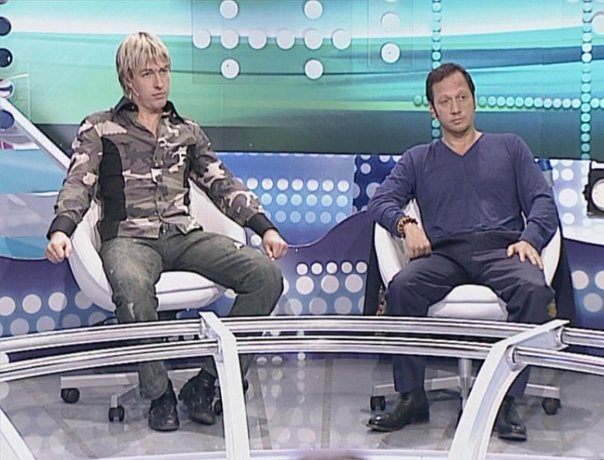 Alex Lesli On Russian Tv, Alex Lesley