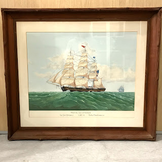 R.R. Newell Signed Watercolor