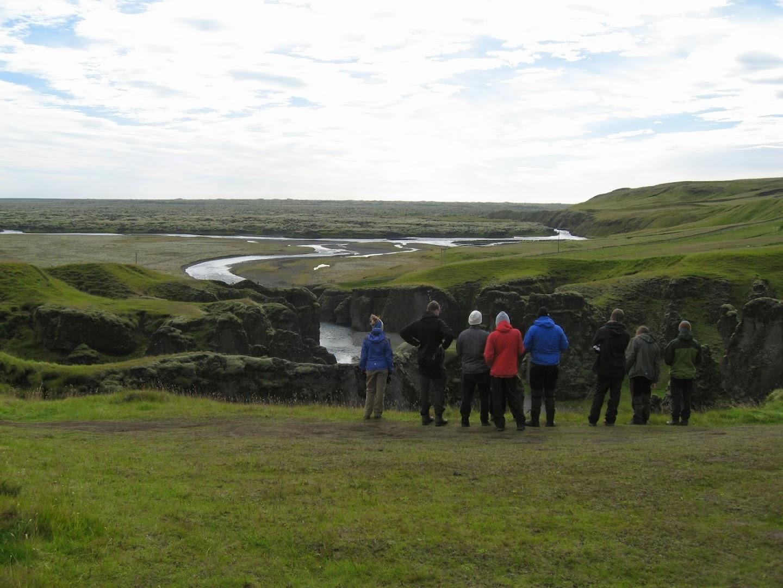 Day 5. 6.9.2013. The gorge, Fjaðrárgljúfur. Riina