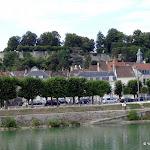 La Marne et les remparts de l'ancien château
