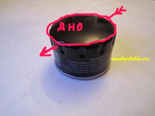 фильтр мотора автомобиля