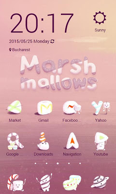 Marshmallows ZERO Launcher - screenshot