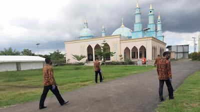 Kunjungan Wapres RI ke Ponpes An-Nawawi Tanara, Den Gegana Brimob Banten Lakukan Sterilisasi