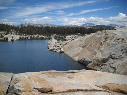 Granite, sunshine and alpine lakes... what more do you want?