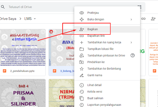 Mengamankan file PDF agar tidak mudah didownload dari Google Drive