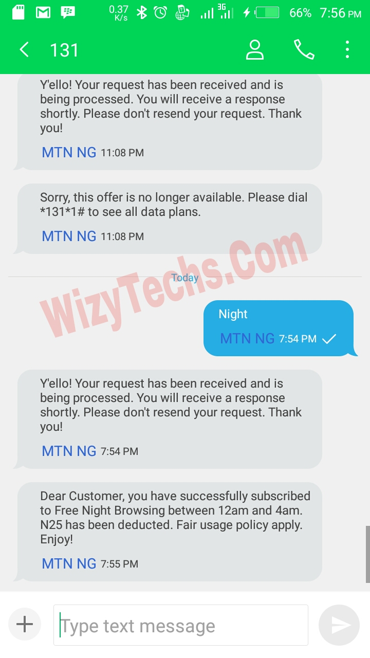 Glo 25 naira night plan code