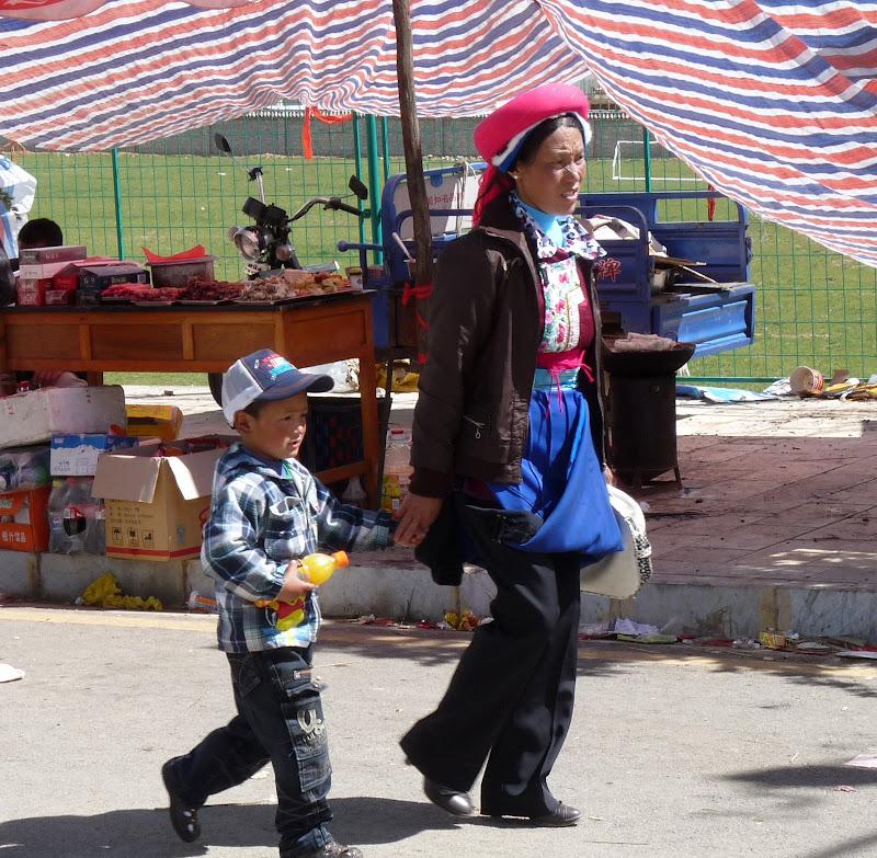 Chine. Yunnan.Shangri la Course hippique annuelle - P1250744.JPG