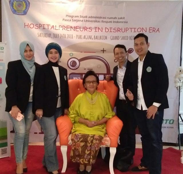 Program Studi  MARS Universitas Respati Indonesia  sukses Gelar Seminar Nasional Hospitalpreuners