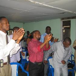 Dedication of New Praise & Worship Centre