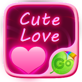 Cute Love GO Keyboard Theme