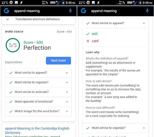Exclusive Google Introduces Word Coach To Help Users Improve