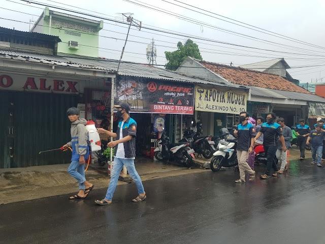HMI, Karang Taruna Medan Satria dan BPBD Lawan Corona