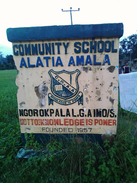 ALATIA COMMUNITY : The touching cry of an Imo Community left in the ruins of Isolation and Darkness since creation(photos )