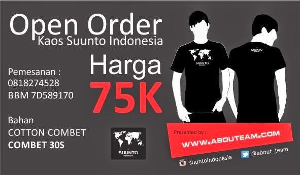 Pre Order Kaos Suunto Indonesia
