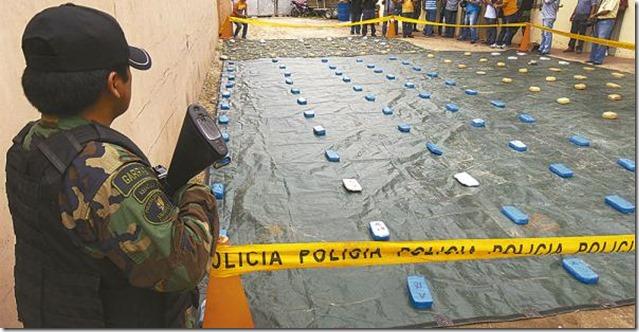 2016: Felcn confisca más de 12 t de cocaína en casi cuatro meses