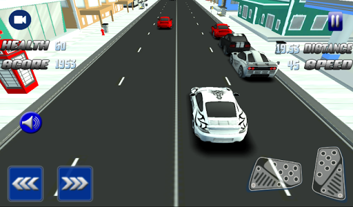 Mad Car Racing 3D