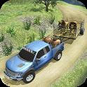 Offroad Animal Transporter 4x4 icon