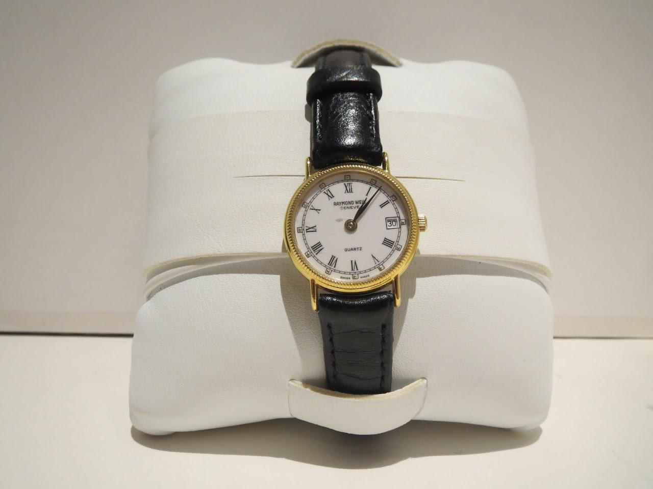 Vintage Raymond Weil Round Roman Watch