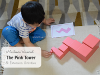 Montessori Sensorial Activity The Pink Tower