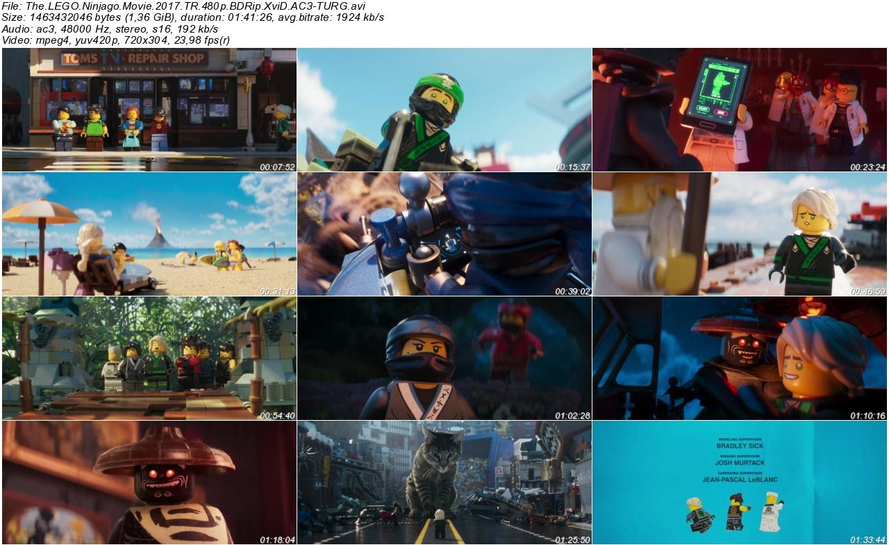 LEGO Ninjago Filmi 2017 - 1080p 720p 480p - Türkçe Dublaj Tek Link indir