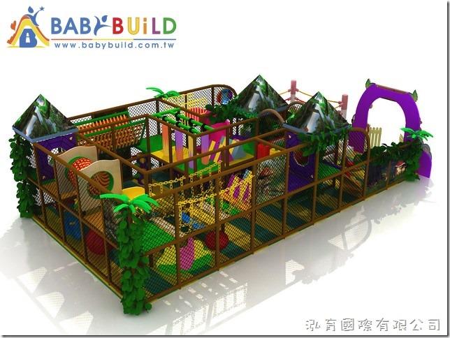 BabyBuild 叢林系列室內3D遊具