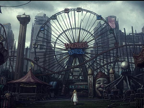 Amusement Park, Magical Landscapes 1