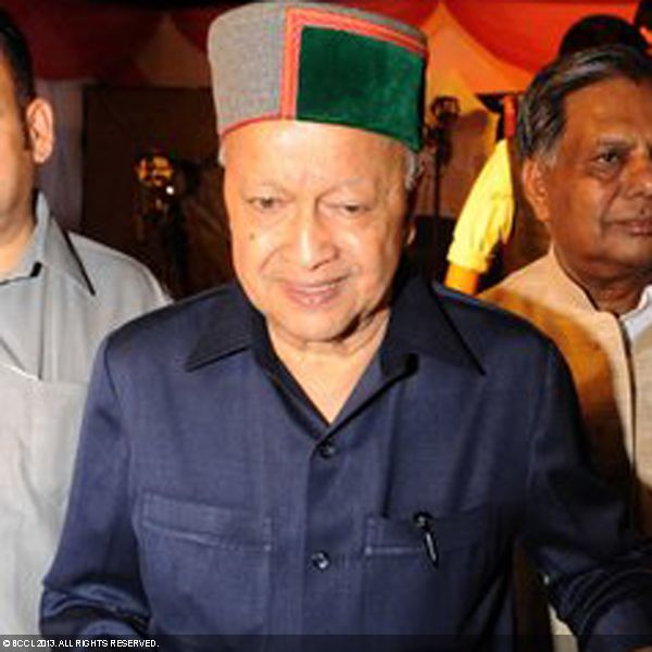 Virbhadra Singh during the wedding ceremony of Ragini and Ashok, held in Delhi.
