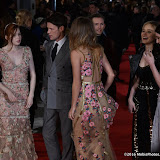 OIC - ENTSIMAGES.COM - Hermione Corfield, Ellie Bamber, Matt Smith, Suki Waterhouse, Millie Brady, Bella Heathcote  at the  Pride and Prejudice and Zombies - European film premiere in London 1st February 2016 Photo Mobis Photos/OIC 0203 174 1069