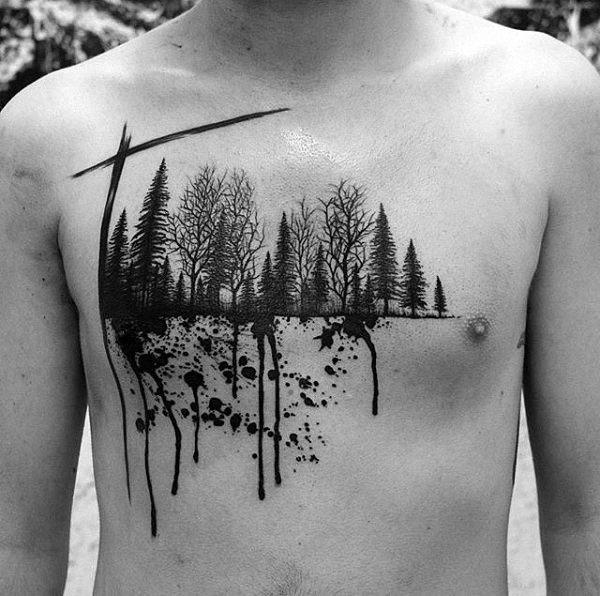 esta_aquarela_preto_floresta_tatuagem