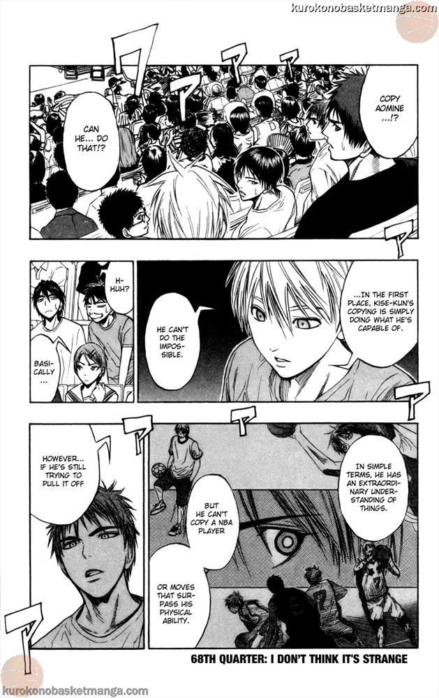 Kuroko no Basket Manga Chapter 68 - Image 1