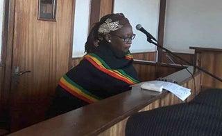 Dr. Stella Nyanzi an activist from Buganda. PHOTO | NMG