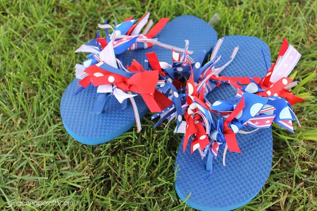4th flip flop crafts